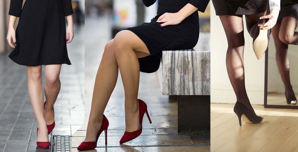 pantofi-rosii-rochie-neagra