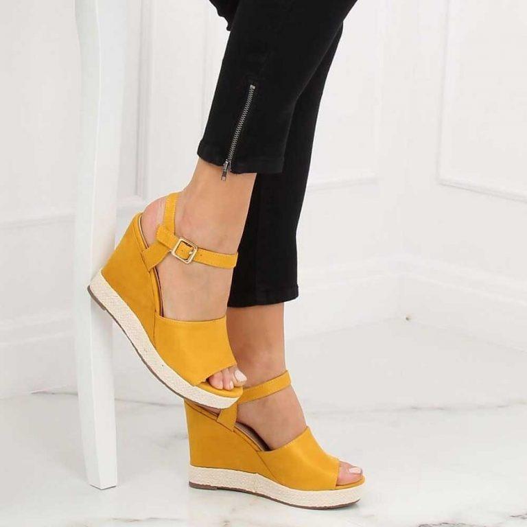 Sandale elegante cu toc gros și înalt, 8.5 cm - 131994